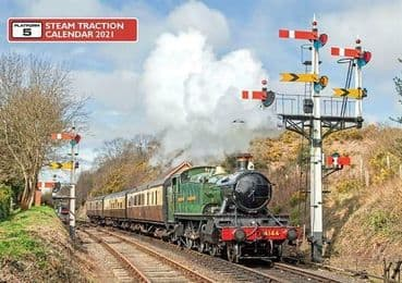 STEAM TRACTION CALENDAR 2021 ISBN: CAL2-2021